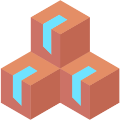 Extra storage space - boxes icon