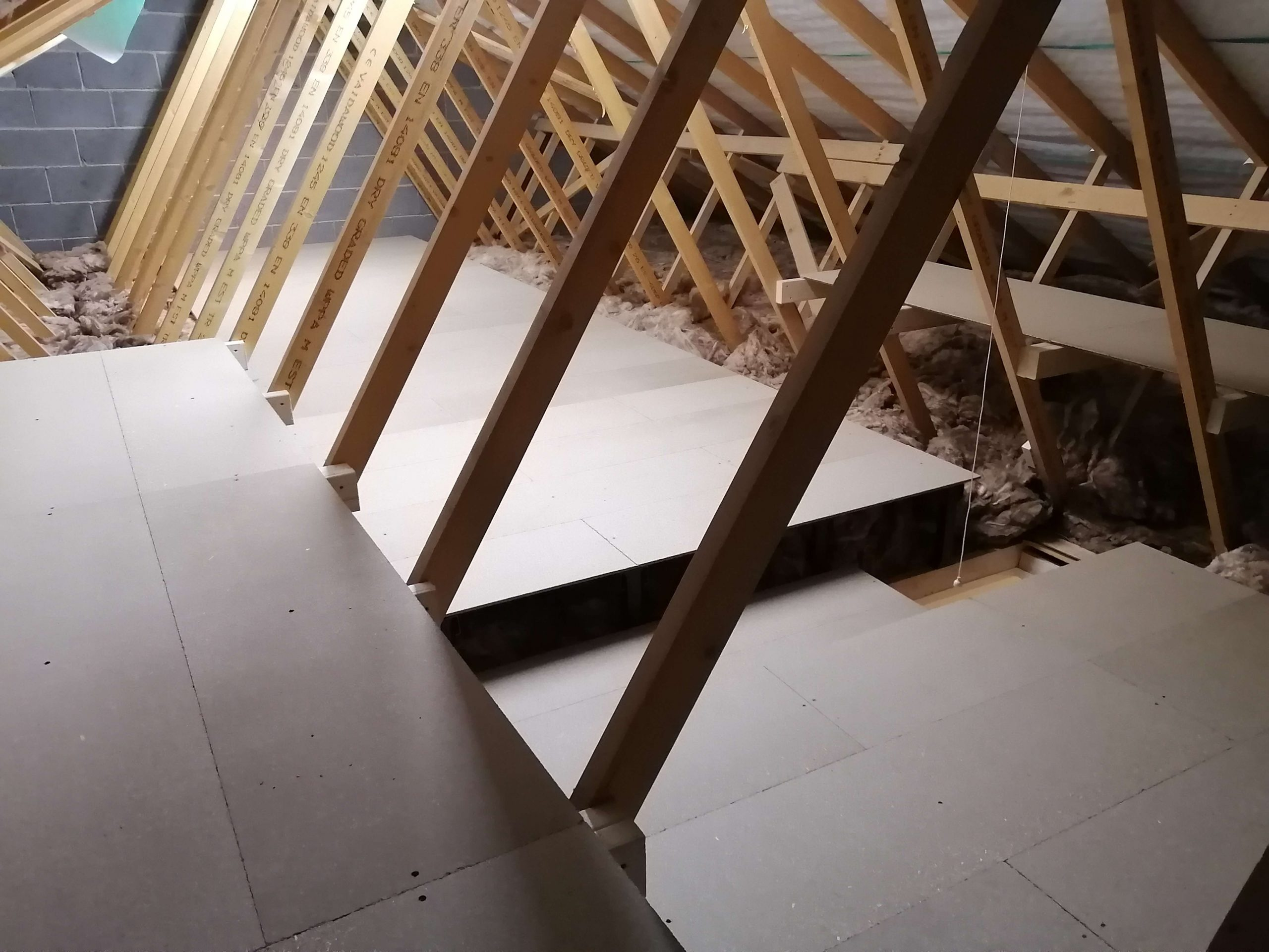 Truss Shelving and Boarding by the Loft Genie