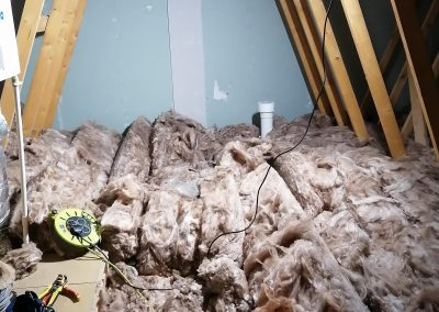 Insulation before Loft Boarding