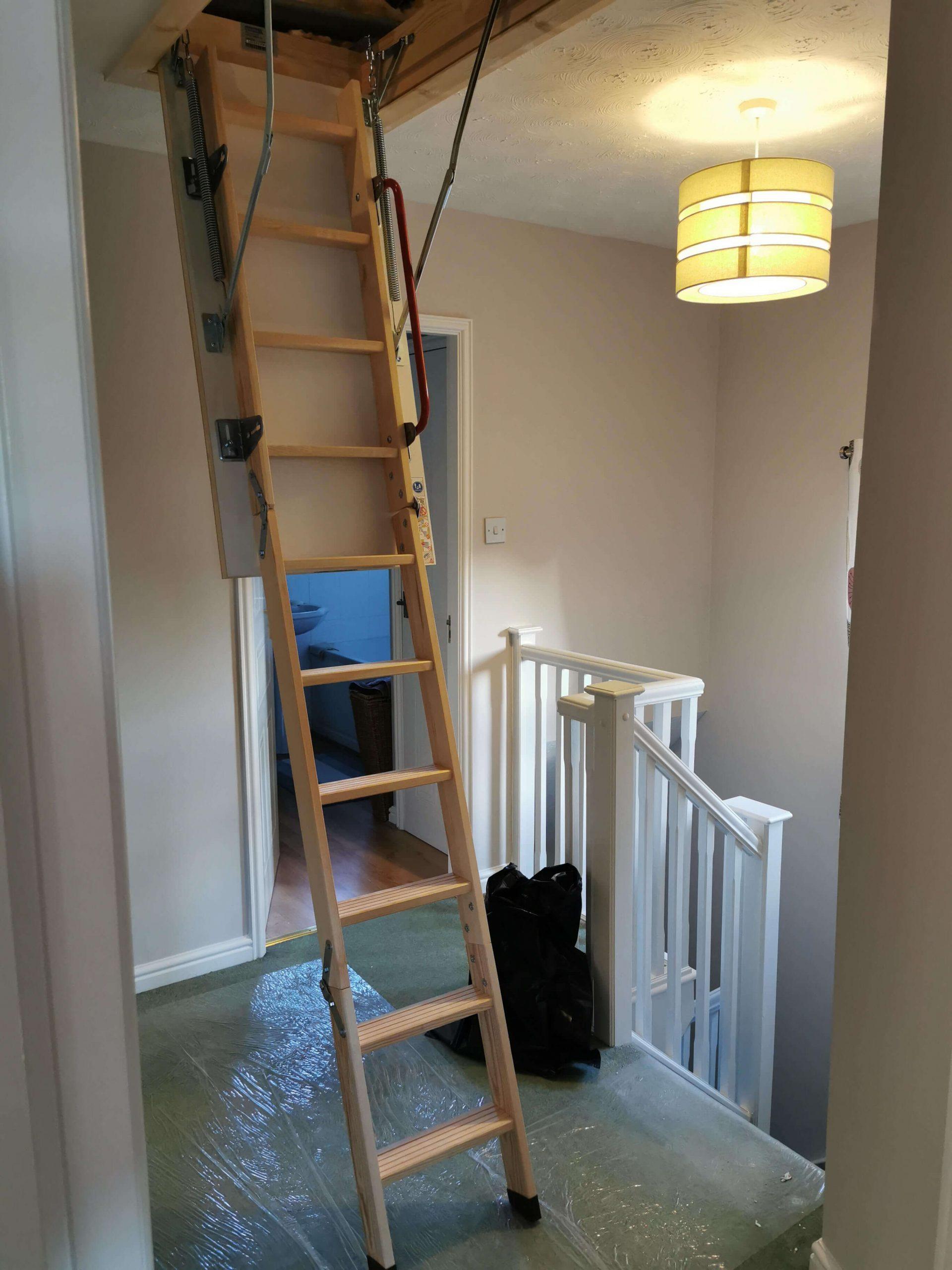 Loft Ladder by Loft Genie